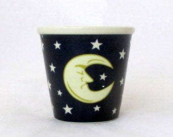 Moon Lake Musk soy candle, votive candle, moon candle, star candle, musk candle, decorative candle, yellow candle, unique candle