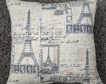 Eifel tower Paris Cushion Cover. Multiple sizes available