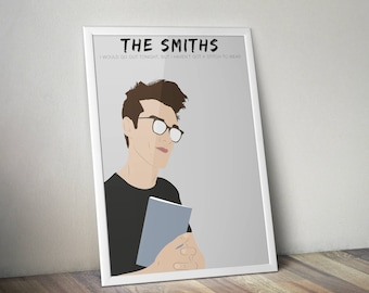 The Smiths A3 Print Home Decor Morrissey Wall Art