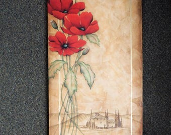 Tuscan Poppies Canvas