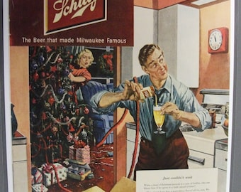 136 Schlitz Beer 1950