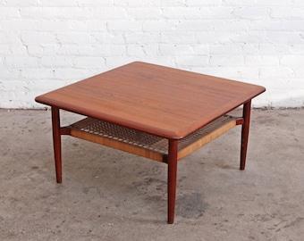 Johannes Andersen Danish Two Tier Coffee Table