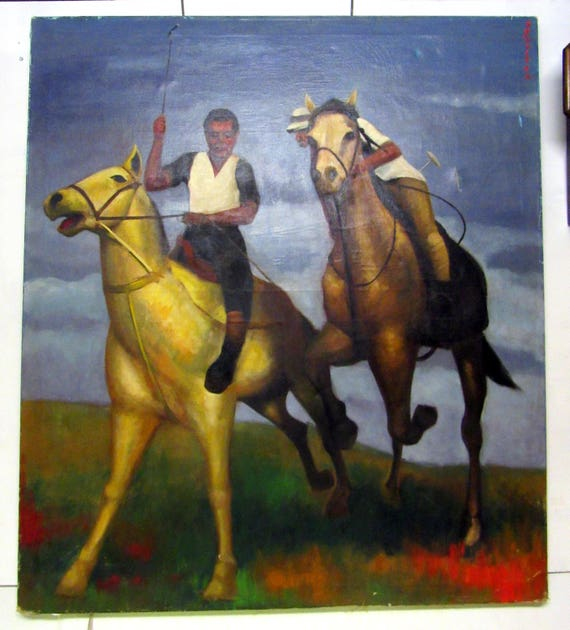 Horse Oil Painting - huge!
