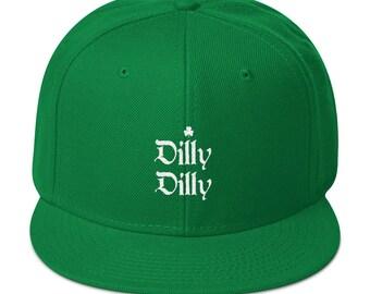 Dilly Dilly St. Patricks Day Green hat - Irish Shamrock Cap