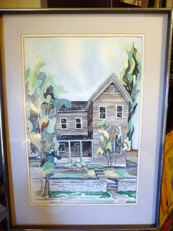 Ähnliche Artikel wie Frühe historische Belleville Haus