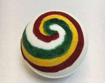 Kaylee Inspired Bath Bomb With Charm- Hand Painted