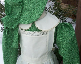 Little House on the Prairie Dress...Laura Ingalls Costume(PLEASE read full details before ordering)