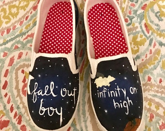 """Fall Out Boy """"Infinity On High"""" Inspired Shoes"""