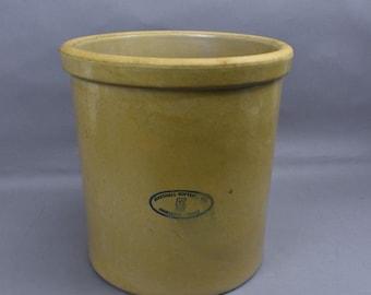 "Marshall Pottery #5 Crock 5 Gallon 13"" tall"