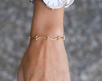 Bracelet chaîne minuscule - Bars