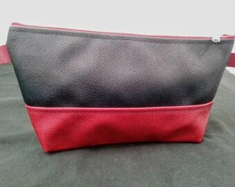 Cosmetic bag //Make-up bag // Make-up kit // Travel bag // Make-up organizer // Toiletry kit //Handmade cosmetic bag //