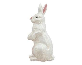 White Rabbit 15/16 inch ( 24 mm ) Susan Clarke Metal Button