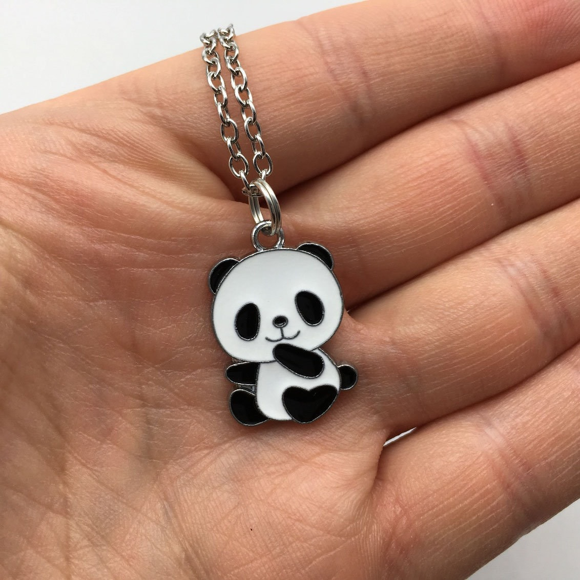 PANDA Necklace Panda Jewelry Panda Gift Animal Necklace Bear