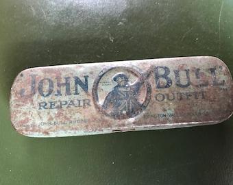 John Bull Rubber Repair Tin