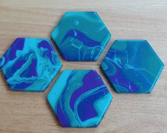Tile Coaster, set of 4