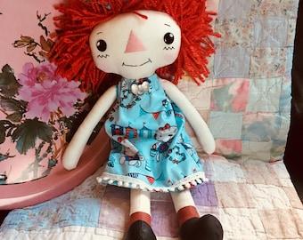 Sue Ann - Rag Doll - Raggedy Ann