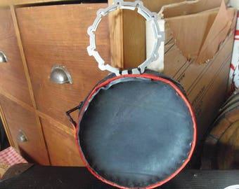 round bicycle inner tube bag
