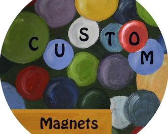 "Custom Design Fee Add-On for magnets 1"" or 1.5"""