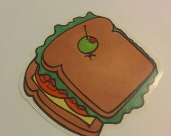 A big ol' Sammy sticker