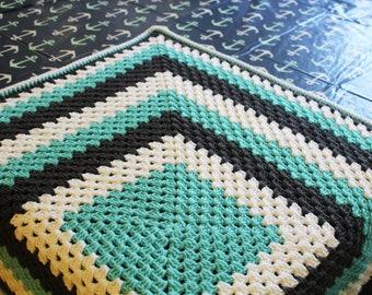 Crochet Baby blanket- Granny square