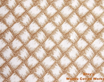 Light Brown Woven - David Textiles - Cotton Fabric - 1 yard - more for one cut - B8