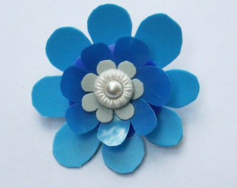 Whimsical Floral Brooch
