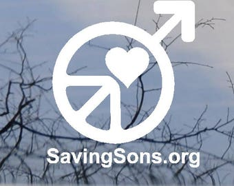 Saving Sons Logo Decal