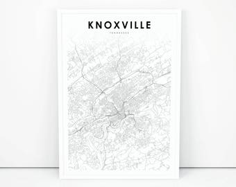 Knoxville print Etsy