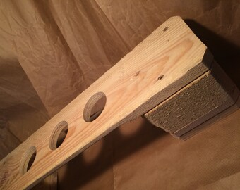 V60 Drip Stand (Reclaimed coffee shipping pallets) 3 Cup