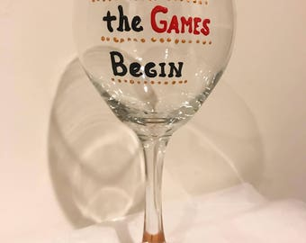 Baby Let The Games Begin - Taylor Swift Wine Glass