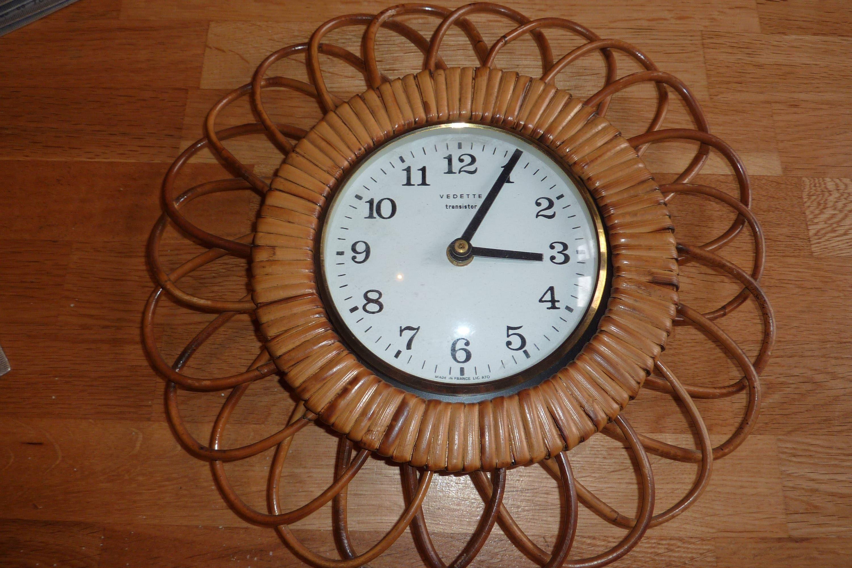 Pendel Uhr Rahmen Rattan Uhr Spiegel Stil Marke vorgestellten