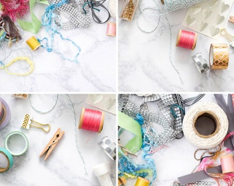 Sewing & DIY Stock Photos for Crafters + Handmade Business | Craft and DIY Styled Stock Photography | Set of 4 Hi-Res Images