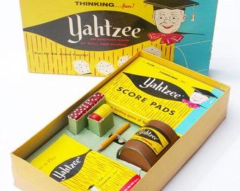 Yahtzee Game 1956 E S Lowe Company
