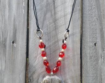 Alabama Elephant necklace
