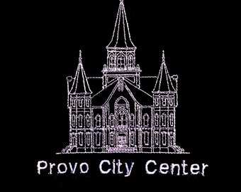 Embroidered Provo City Center Temple