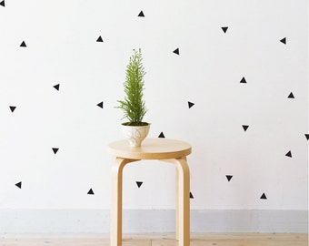 Mini Triangles   Removable Wall Decal & Sticker for Home, Office, Nursery