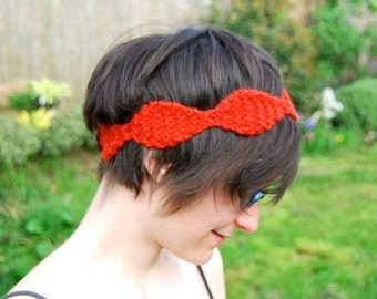 Headband KNITTING PATTERN - Perle Knit Headband
