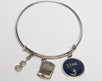 Sherlock Bangle Bracelet