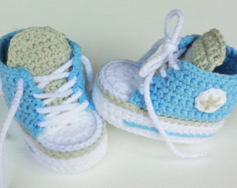 Baby shoes & sneakers, Babychucks, sneakers, light blue