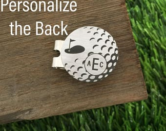 Monogram Golf Ball Marker Personalized Birthday Gift For Him Valentines Day Golf Gift For Husband Gift Wedding Golf Gift Idea for Golfer