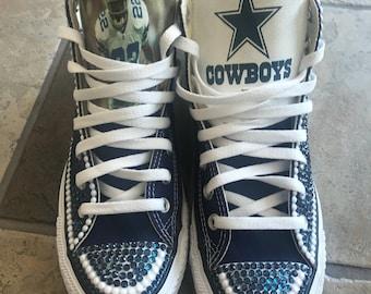 Custom Dallas Cowboys Bling Converse
