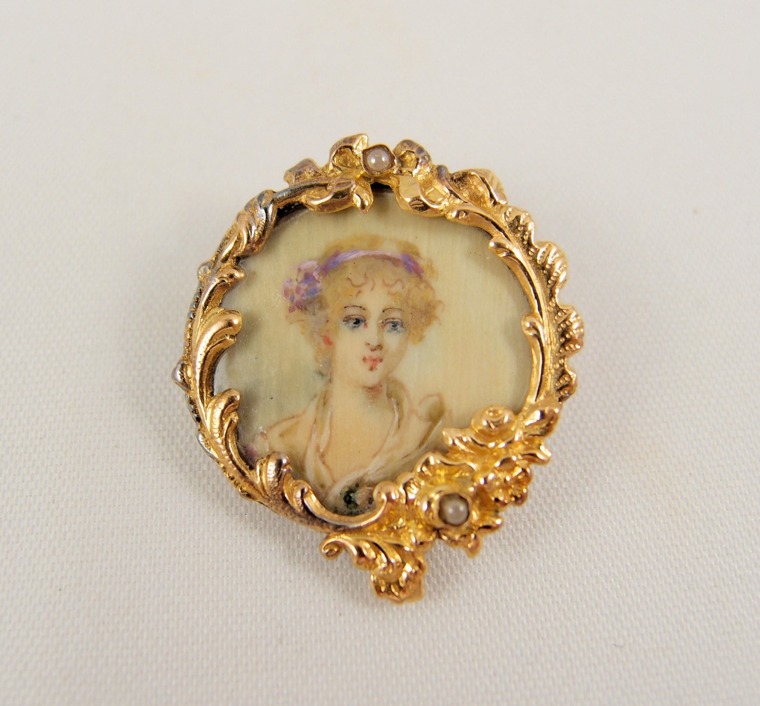 hunter img carryover some brooches early in with brooch piece september gold solid we diamonds elements romantic victorian quite and georgian sold jewelry pearls this ridge