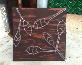 ABSTRACT LEAVES String Art