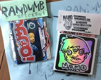 10 Randumb Stickers
