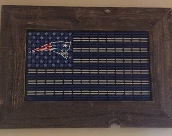 Patriots American flag