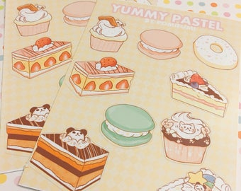 Yummy Pastel Sticker Sheet