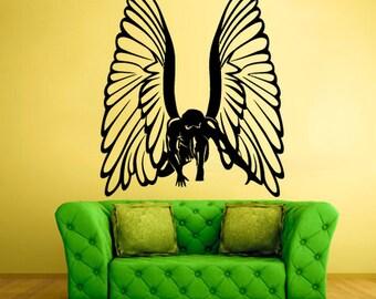 wings wall decal angel wings wall decor wings wall art wings wall decor wings wall sticker(z565)