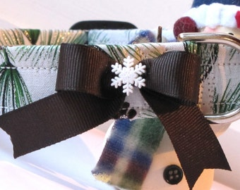 Fresh Winter Pine Pet Collar