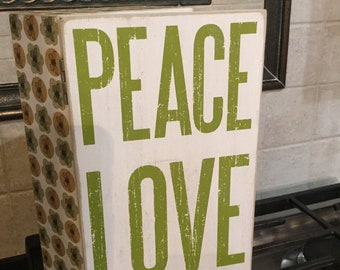 Peace Love and Happiness Box