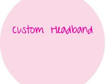 Crochet Custom Headband, Crochet Custom Headwrap, Crochet Headband, Crochet Headwrap